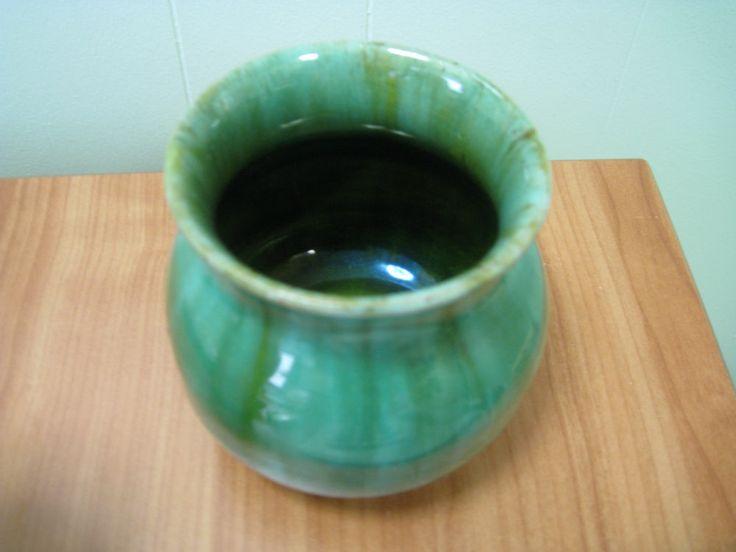 10cm x 11cm John Campbell Vase Australian Pottery  Circa 1933