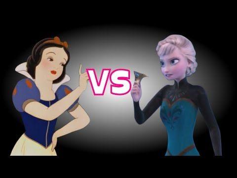 Blancanieves vs Elsa, Batalla de rap (En Animación). - YouTube