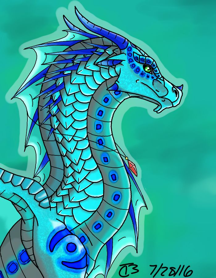 Wave~ by SpudbollerCreations on DeviantArt | Wings of fire ...