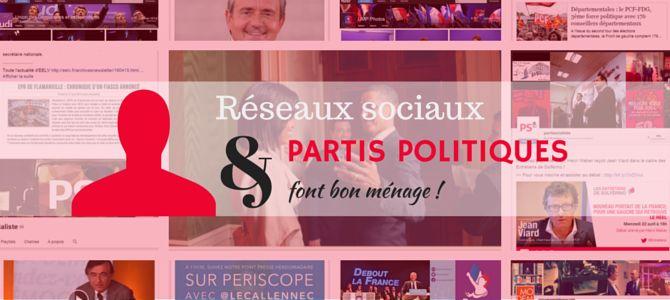 Cette affirmation, c'est moi qui le dit ! Mais c'est beaucoup moins sûr pour les intéressés : les partis politiques français… Cet intérêt pour la communication des partis politiques via les réseaux sociaux m'est venu lors des dernières cantonales de mars 2015. Surprise par plusieurs messages que j'a