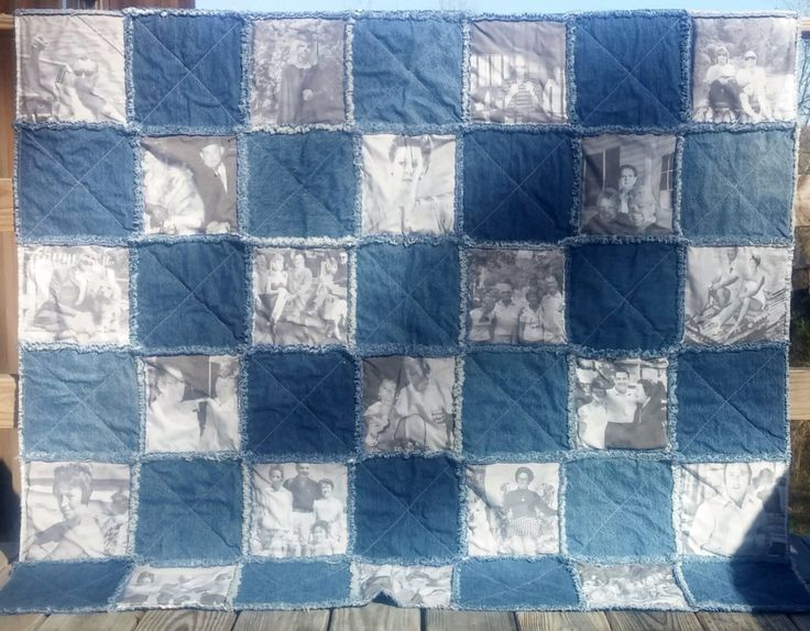 318 best Rag Quilts,Quilts,Ideas,and Patterns images on Pinterest ... : memory rag quilts - Adamdwight.com