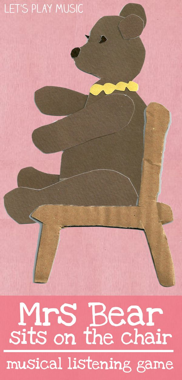 Mrs Bear Sits On The Chair : Rhythm and Listening Game from Let's Play Music