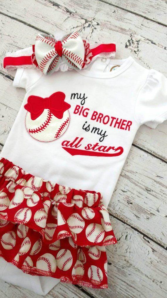 Baby baseball headband Newborn Baseball sister headband- Baby girl baseball headband Baseball headband Infant baseball headband