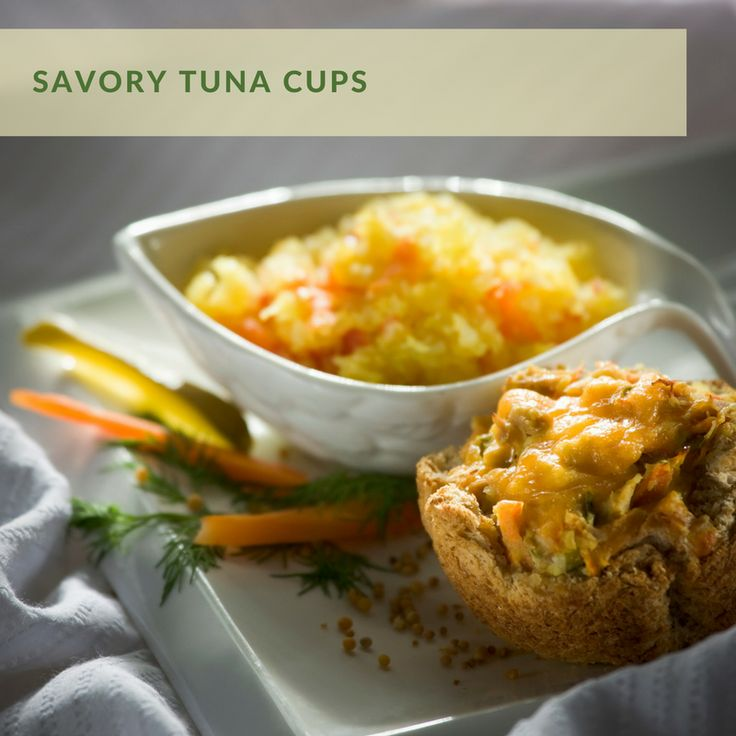 Savory Tuna Cups | Inspired by Mustard