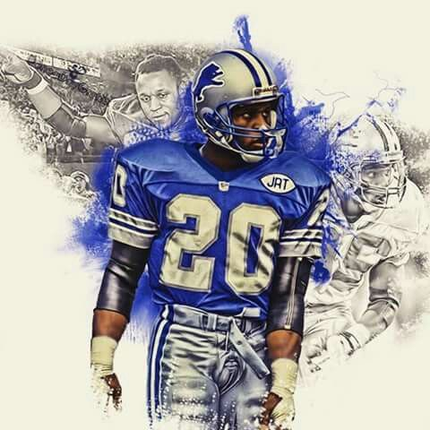 Barry Sanders, the one and only!!!