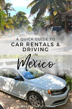 What we learned from 7 days of renting a car and driving in Mexico. #mexico #familytravel // Family Travel | Travel with Kids | Cancun | Playa del Carmen | Tulum | Riviera Maya | Road Trip | Driving Rules | Adventure Travel
