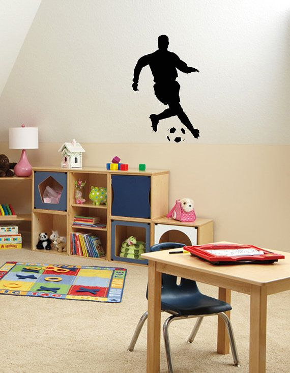 Wall Vinyl Decal Any Room Sport Football Player Housewares Mural Sticker V130