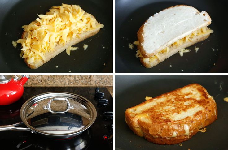 {Step-byStep} Guide To Making Perfect Grilled Cheese - by barefeetinthekitchen.com