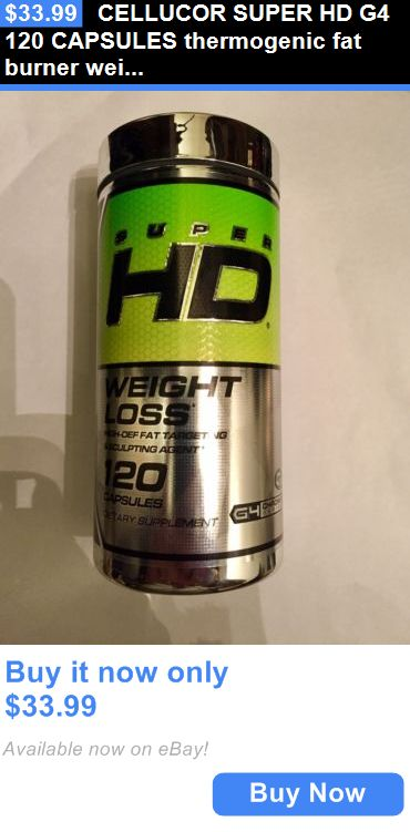 Health And Fitness: Cellucor Super Hd G4 120 Capsules Thermogenic Fat Burner Weight Loss Diet BUY IT NOW ONLY: $33.99