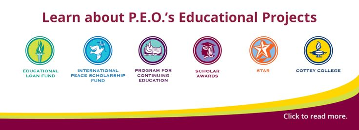 P.E.O. (Philanthropic Educational Organization) is a philanthropic organization where women CELEBRATE the advancement of women; EDUCATE women through scholarships, grants, awards, loans, and stewardship of Cottey College and MOTIVATE women to achieve their highest aspirations.