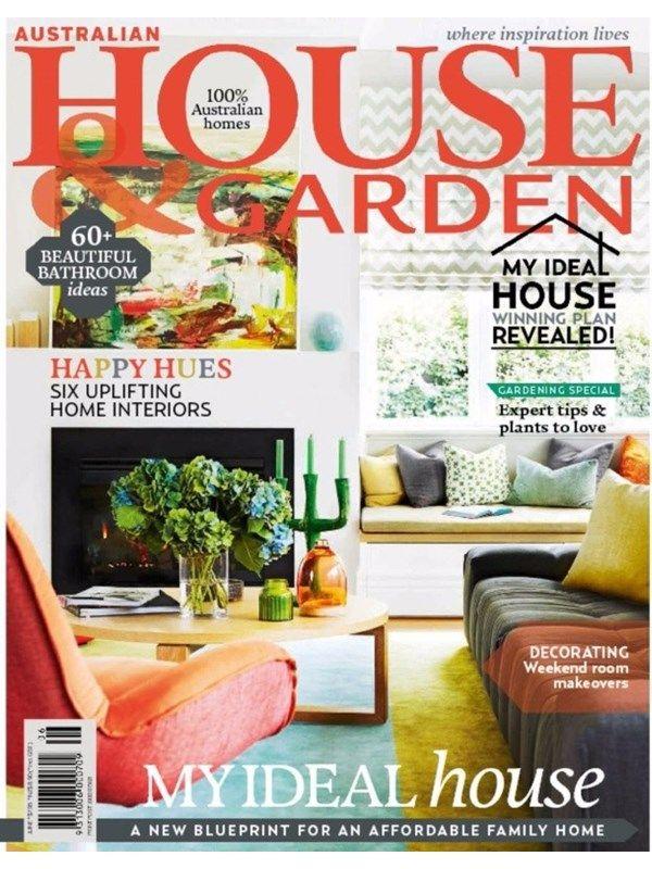 Australian House and Garden June 2016 Issue- My Ideal Home  #AustralianHouseandGarden #HomeInteriors #Gardeingtips #ebuildin