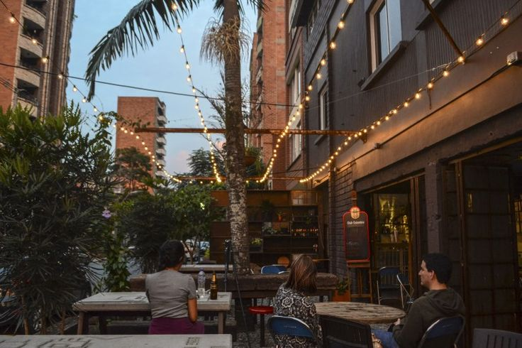 Barrio Central Cafe Bar's garden #BarrioCentralCafeBar #pub #local #SanJoaquin #Laureles #La70 #BarrioCentral #Cafe #Bar