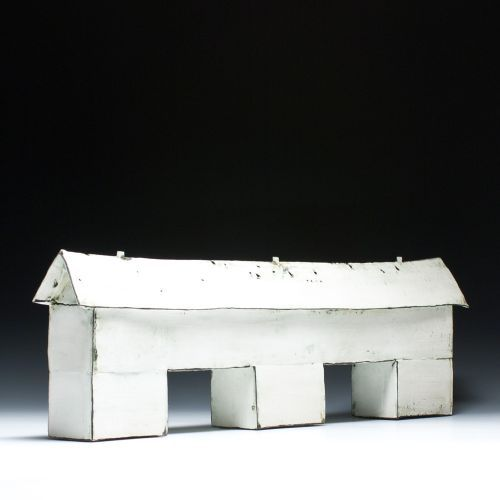 Mary Fischer House Sculpture little art house