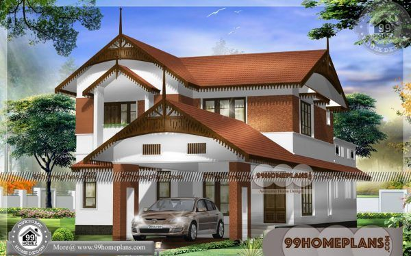 Low Cost Nalukettu House Plans 90 Best Two Story House Design Plan Two Story House Design House Paint Design House Design