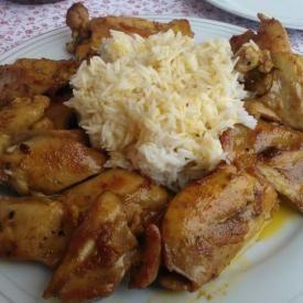 Pollo alle spezie con riso basmati. Condiviso da: http://fulminiepolpette.blogspot.it/