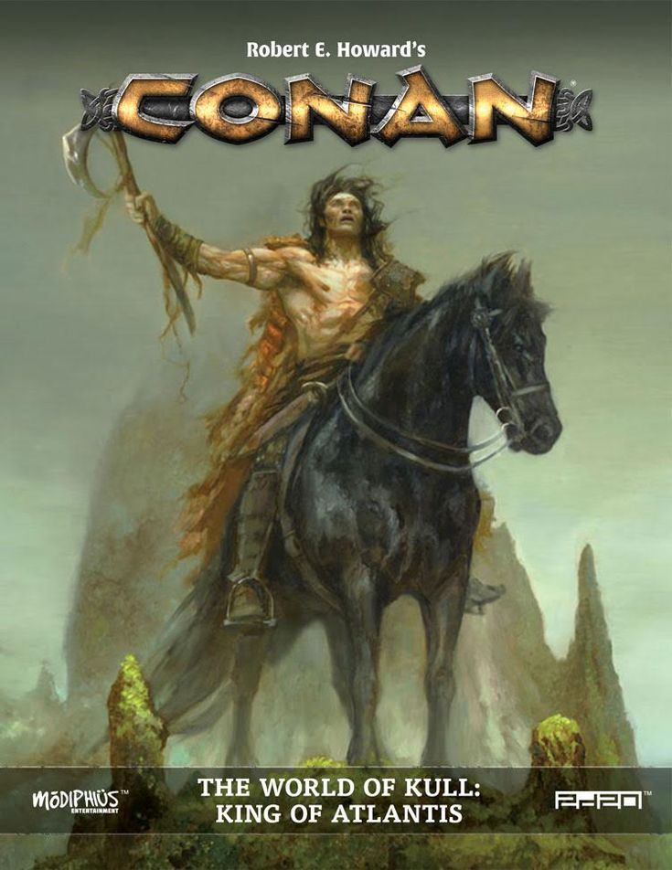 We can just never have enough Conan the Barbarian in our lives. Back in January, we brought you some new Conan art from legendary fantasy artist Brom, from the new role-playing game Conan: Adventures in an Age Undreamed Of. Now there's a Kickstarter to make the game, and we've got some more incredible Conan art to show you.