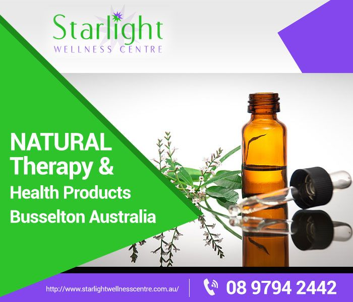 Starlight Wellness Centre provides the most effective health products Perth has to offer. Our strong market foothold has set natural therapy in Busselton on an upward trend. We also provide water filters in Perth that dispense bacteria-free, mineral-enriched water. Visit our website for more information.  Address: 6 Moore St, West Busselton Western Australia 6280	 Phone: (08) 9794 2442