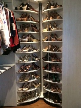 shoe rack closet system lazy lee