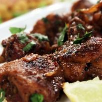 Masaledar Chicken Lollipop: Spicy and full of flavor. These #chicken lollipops are lip smacking!
