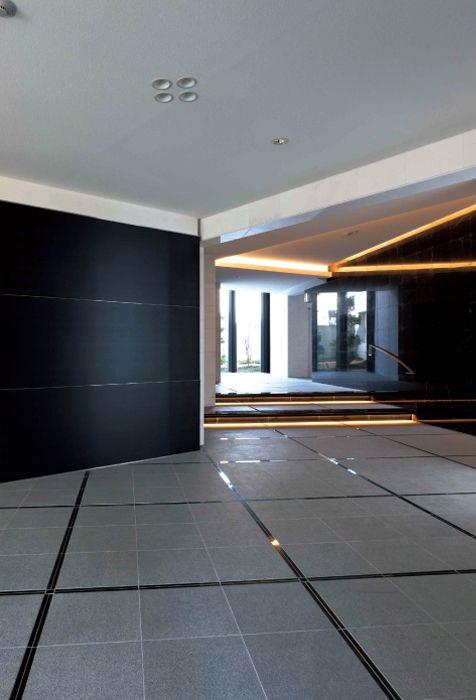 扇型の個性的デザインマンションの建築事例-生和コーポレーション