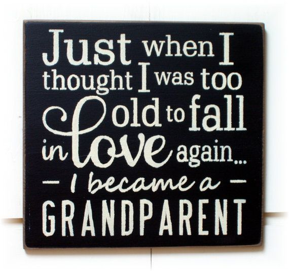 Just when I thought I was too old to fall in by woodsignsbypatti, $22.00