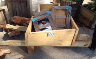wheelbarrow-$50 Frames-$15