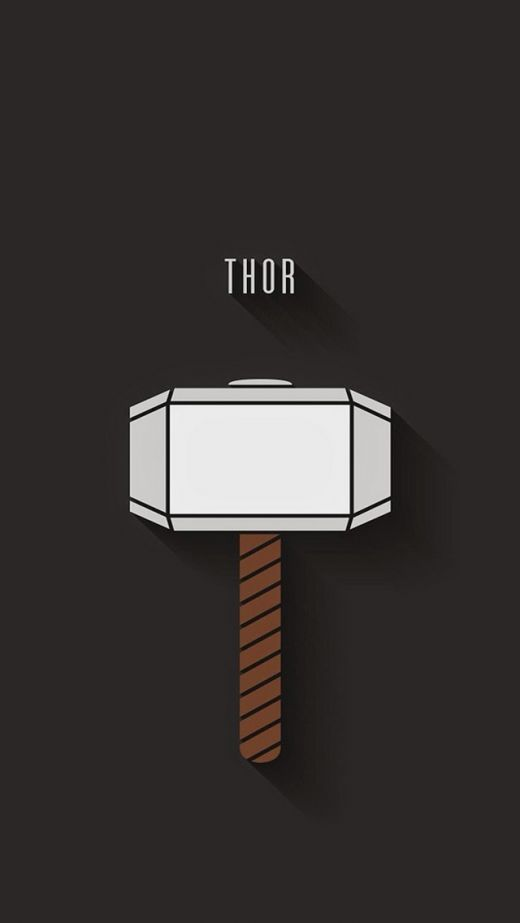 Comic -Thor iPhone Wallpaper >>> Click for original size <<<