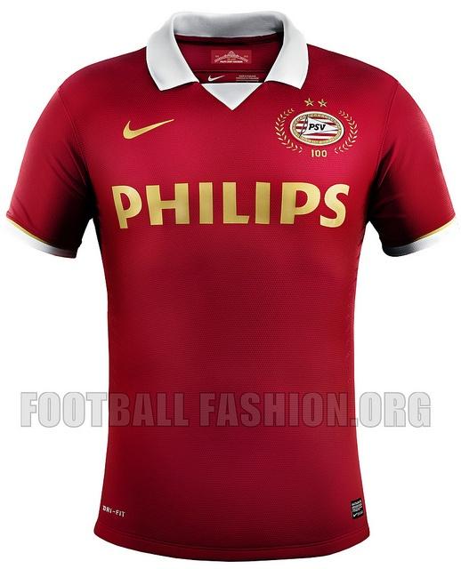PSV Eindhoven 100th Anniversary Nike 2013/14 Home Kit