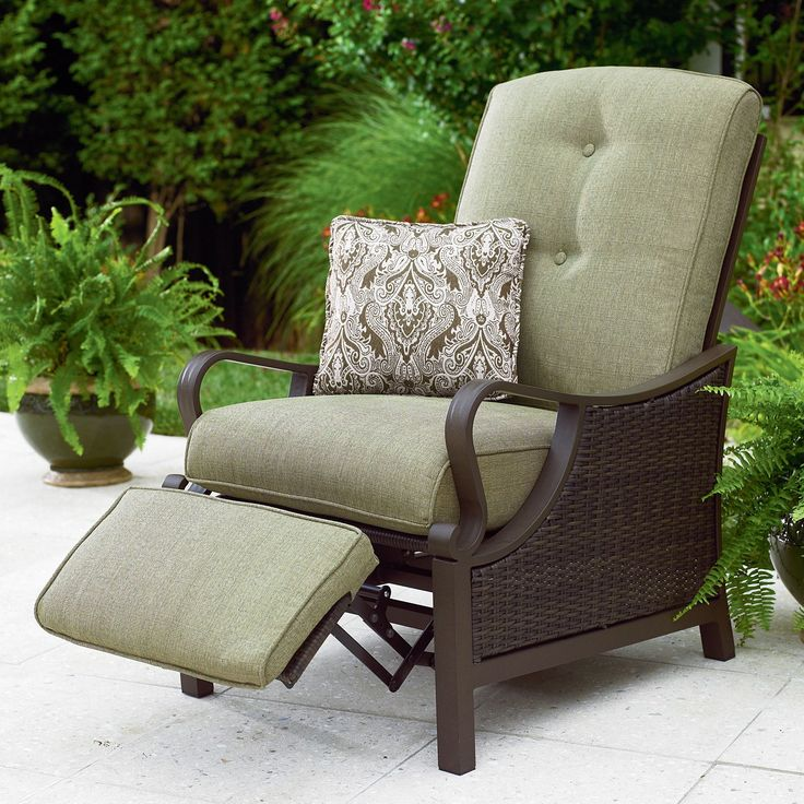 Better Homes And Gardens Providence Outdoor Recliner Red