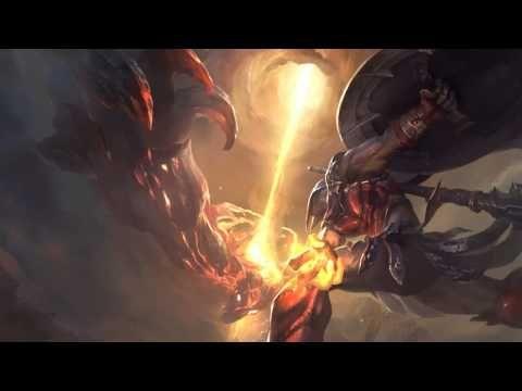 Season 5 Launch League Of Legends Login Screen With Music - YouTube