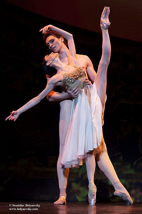 Lucia Lacarra in the pas de deux from Thais