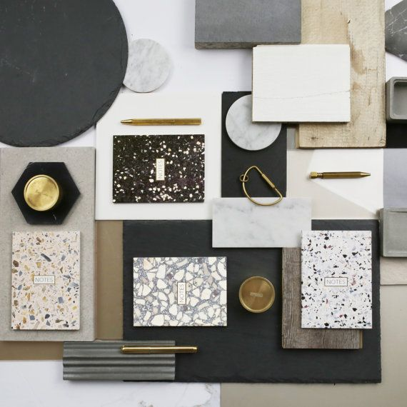 All Four Terrazzo Notebooks Set