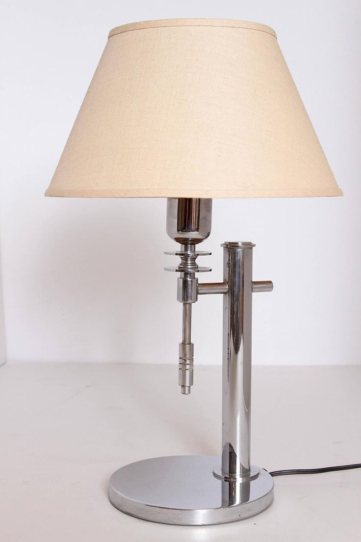 Best 25 art deco table lamps ideas on pinterest art deco lamps minty machine age art deco table lamp geotapseo Images
