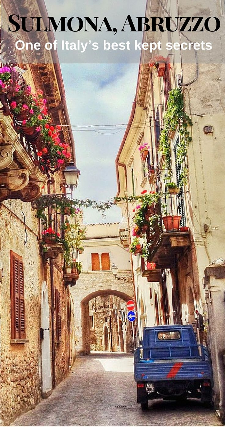 Sulmona, Abruzzo is overlooked by more guide books, vacation companies and touring visitors then we even know how to count. That's probably why it has been able to preserve its unique charm and 'real Italy' appeal.  Our friends from @welcomesulmona share 6 highlights to visit when in Sulmona | BrowsingItaly