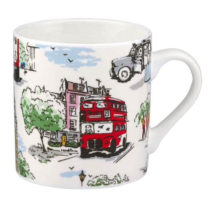 Billie Goes To Town Mug | Cath Kidston |
