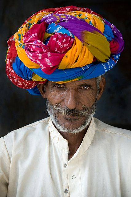 Rajastan people India by galibert olivier, via Flickr