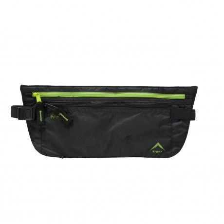 The K-Way Forex Money Belt is the perfect travel mate. It stores all your travel documentation and money and fits tightly against your waist and can be worn discretely under a jacket.