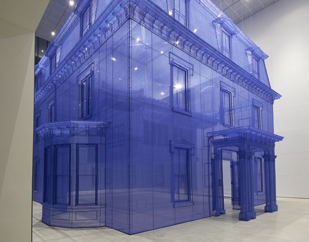 Do Ho Suh is a Korean sculptor and installation artist who's known for his thought-provoking sculptures that often have to do with migration and personal space. These themes reflect his own move from his homeland of Seoul, South Korea to New York.