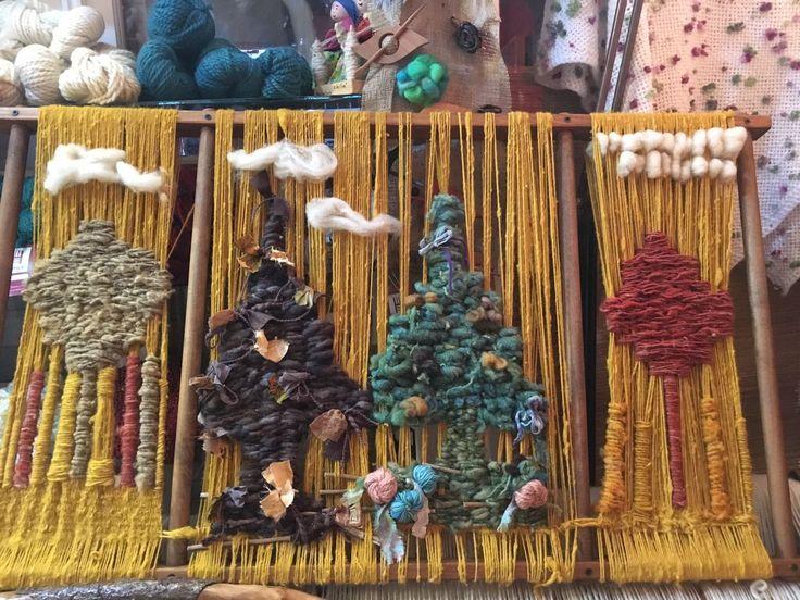 Las 4 estaciones en lana de Tilonka Lanas. CLP 50.000