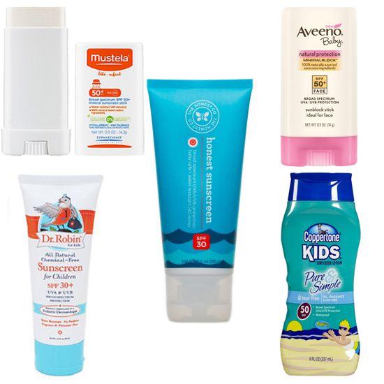 10 Safe Sunscreens For Kids