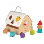 Janod houten vormenhuisje