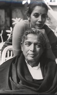 Kaifi azmi - his poems and Naseem (wonderful movie) and the one special line he says.