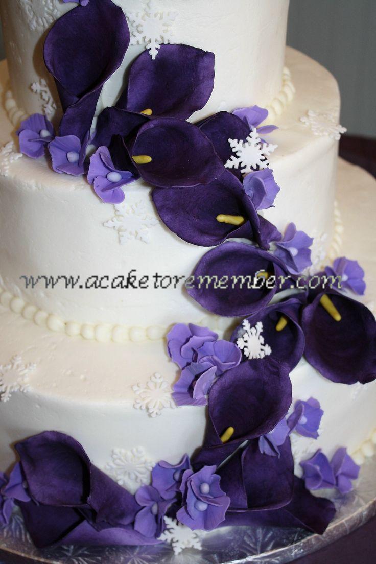 Purple Flower Bouquets | ... purple flowers on Blue Orchid Wedding Flowers | pictures of bouquets