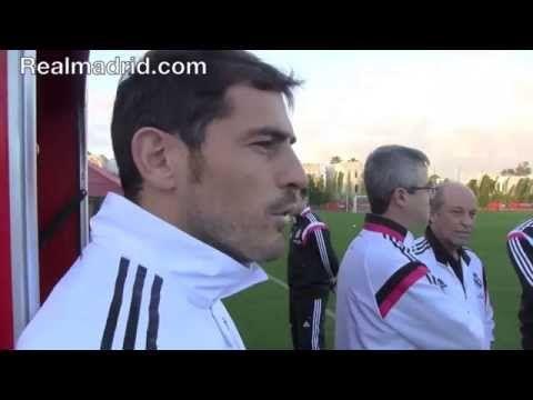 BEHIND THE SCENES: Impresionante exhibición de memoria de Iker Casillas #memory #iker #casillas