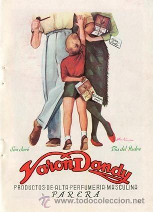 Página Publicidad Original *VARON DANDY. PARERA -- San José - Día del Padre* - Año 1961