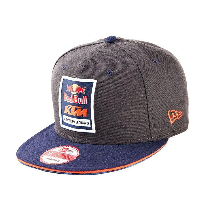 red bull ktm factory racing logo hat grey hats cool. Black Bedroom Furniture Sets. Home Design Ideas