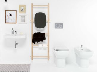 Bathroom ladder RUNG LEANING LADDER - EVER by Thermomat Saniline