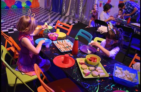 Children's Birthday Party Food madfun Kids Disco Melbourne