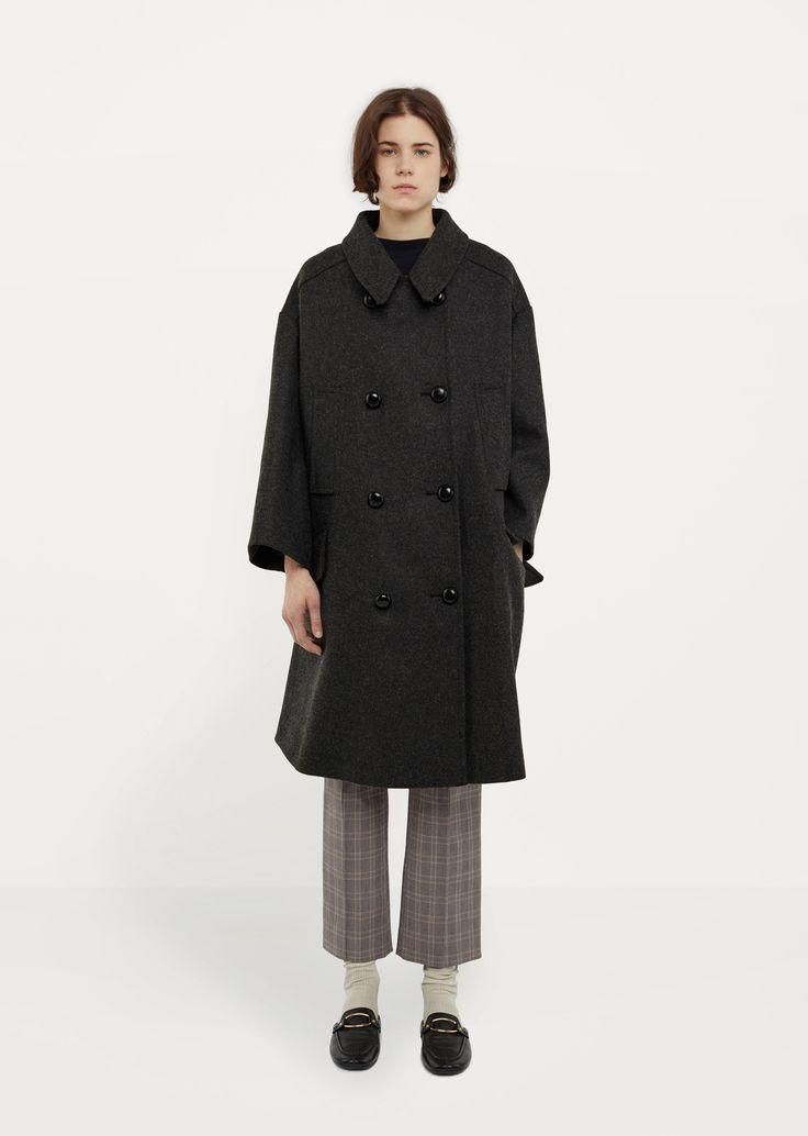 Flicka Long Caban Coat