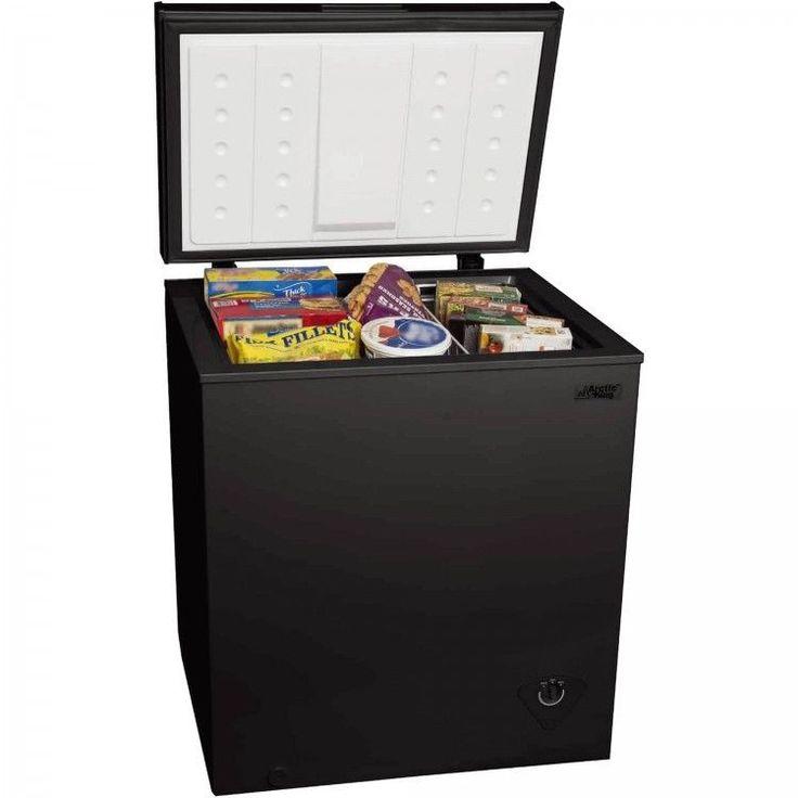 Chest Freezer Compact Refrigerator Cooler Fridge Home Kitchen Garage Dorm Black #CompactChestFreezers